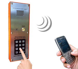 Control de accesos | INTERFONO MULTIUSUARIO APERTURA POR MOVIL GSM