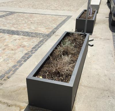 Mobiliario urbano | JARDINERAS RECTANGULARES DOBLE BOX